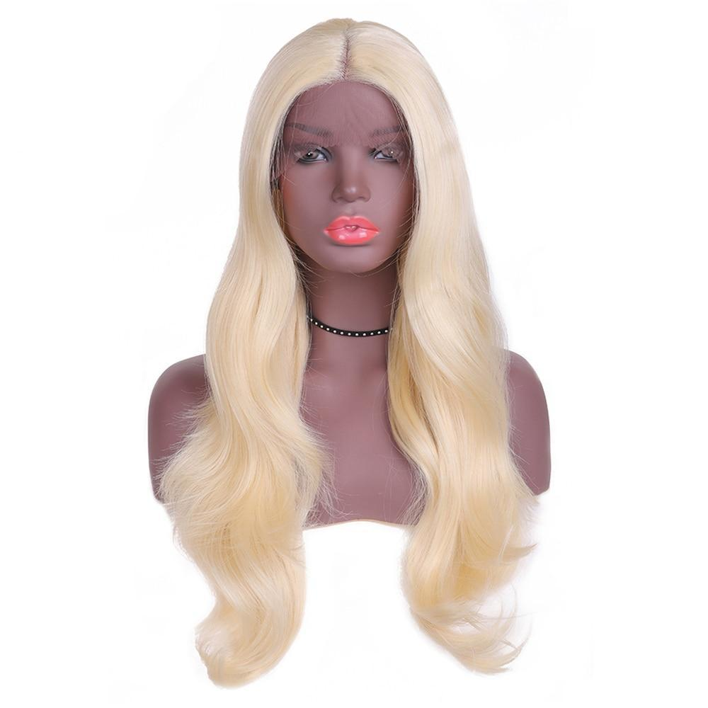 Lace Front Wig Hand tied Middle lace Part 24'' 3 Colors