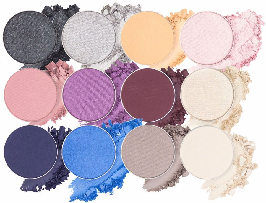 Eyeshadow Collection - The Cool & Captivating Collection