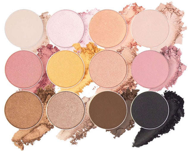 Eyeshadow Collection - The Warm & Rosy Collection