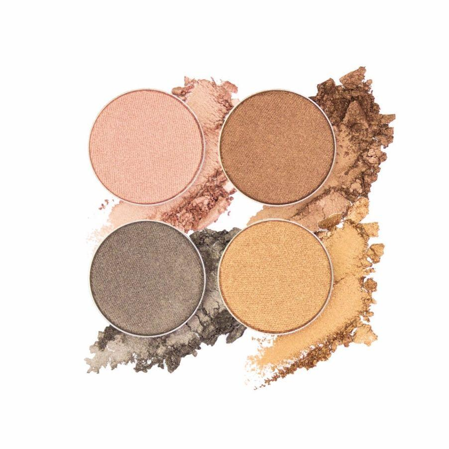 Bella Vista | Eyeshadow Quad | ittsē Cosmetics