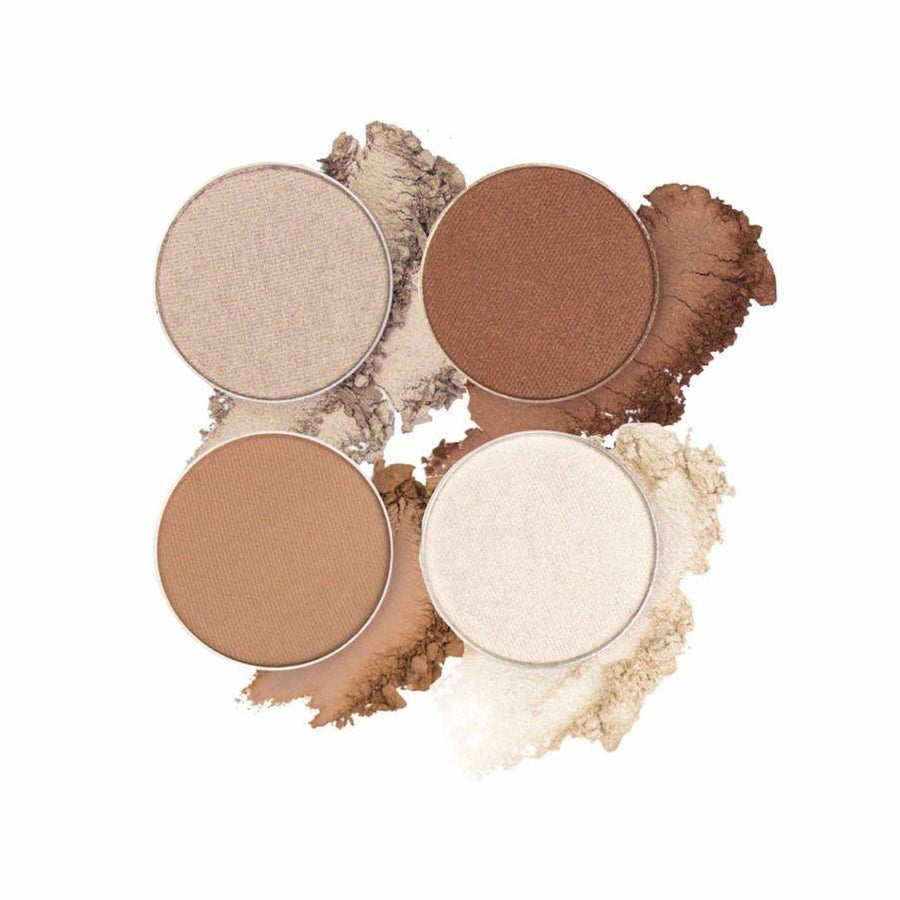 Clement | Eyeshadow Quad | ittsē Cosmetics