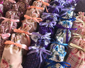 Hand made Lavender Bags
