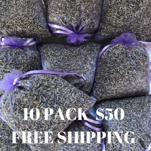 10PACK FREE SHIPPING Little Lavender Bag