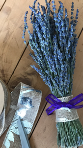 4 Pack Lavender Decor Bunch