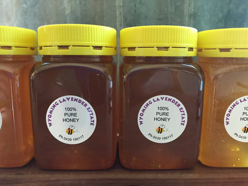 Raw Natural Honey 500g