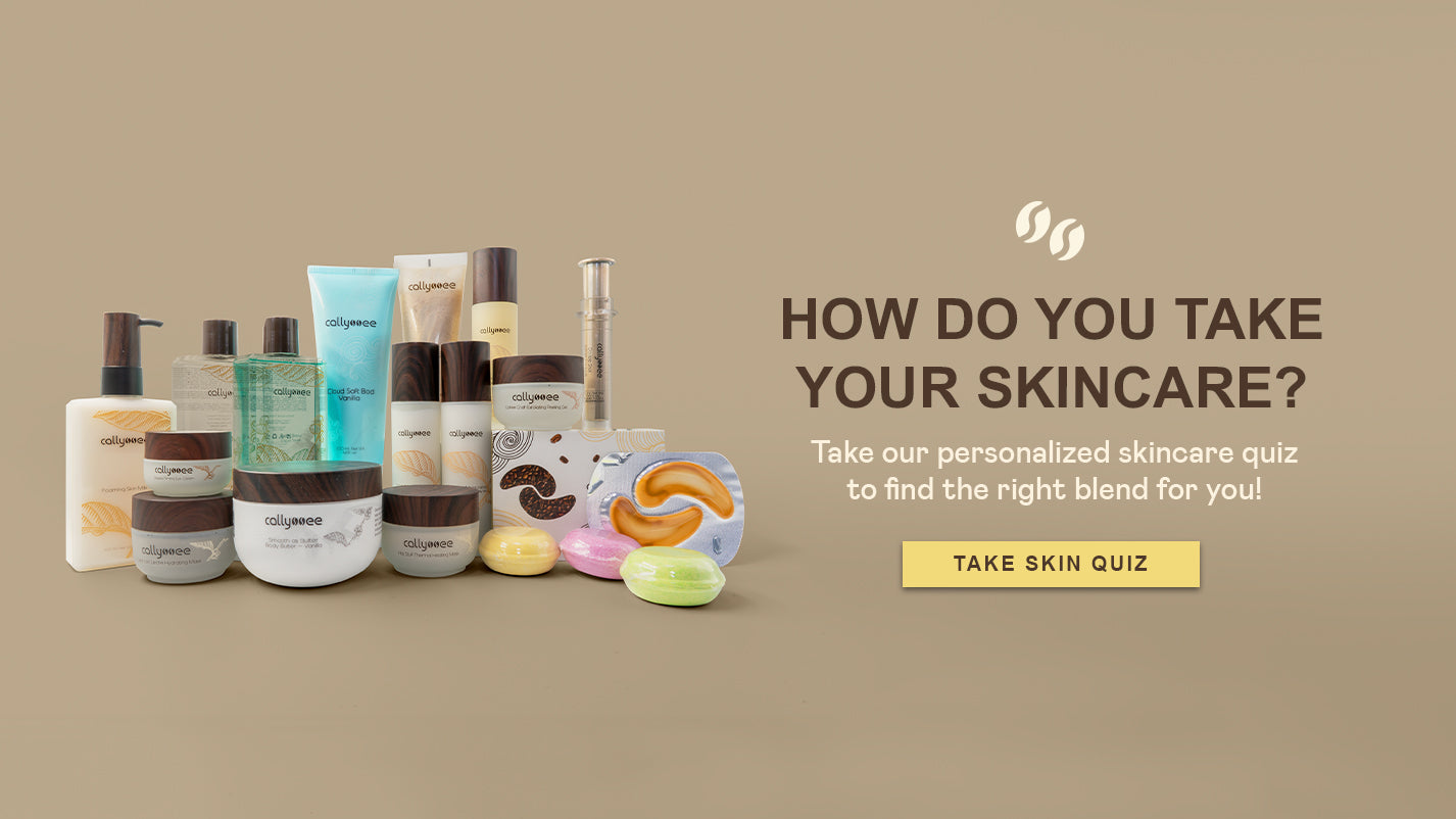 HOW DO YOU TAKE YOUR SKINCARE? Take our personalized skincare quiz to find the right blend for you!