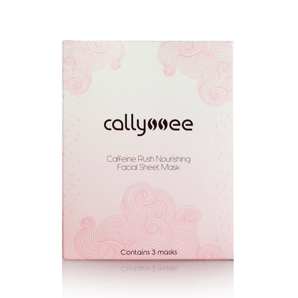 Callyssee Cosmetics - Caffeine Rush Nourishing Facial Sheet Mask