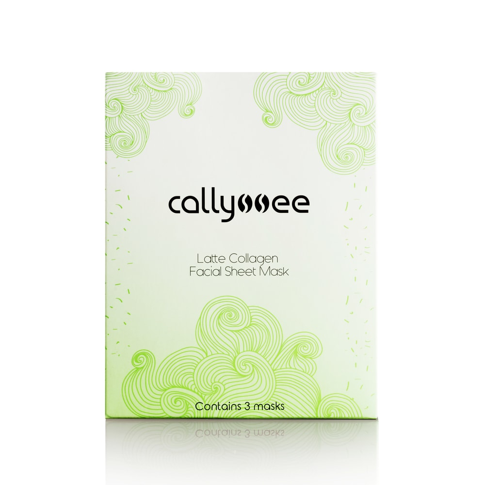 Callyssee Cosmetics - Latte Collagen Facial Sheet Mask