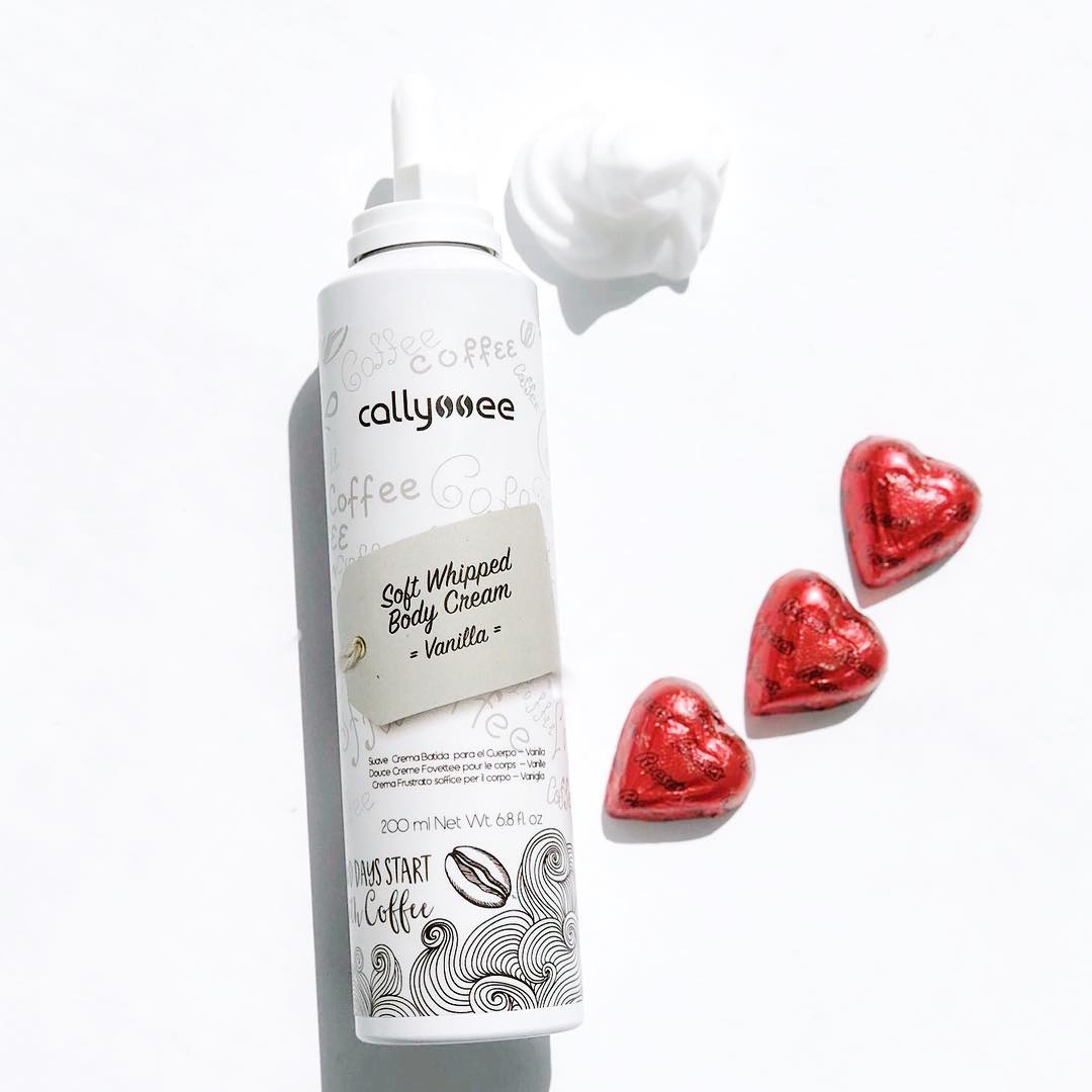 Callyssee Soft whipped body cream and candy