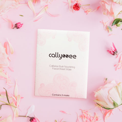 Caffeine Rush Nourishing Facial Sheet Masks
