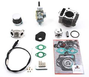 TB Stock Head 88cc Bore Kit & 20mm Carb Kit - Z50 79-81 Models