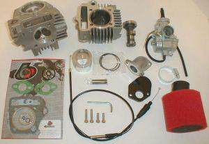 Trail Bikes Race Head 88cc Bore & 20mm Carb Kit for Z50