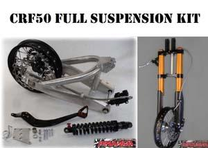 CRF50 Full Suspension Kit