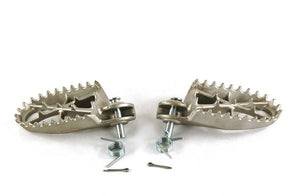 Stainless Steel Oversized footpegs for CRF