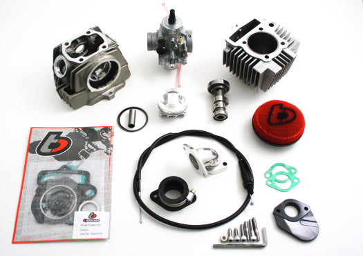 TB 114cc Bore Kit, Race Head, Mikuni VM26/Kit and Race Cam