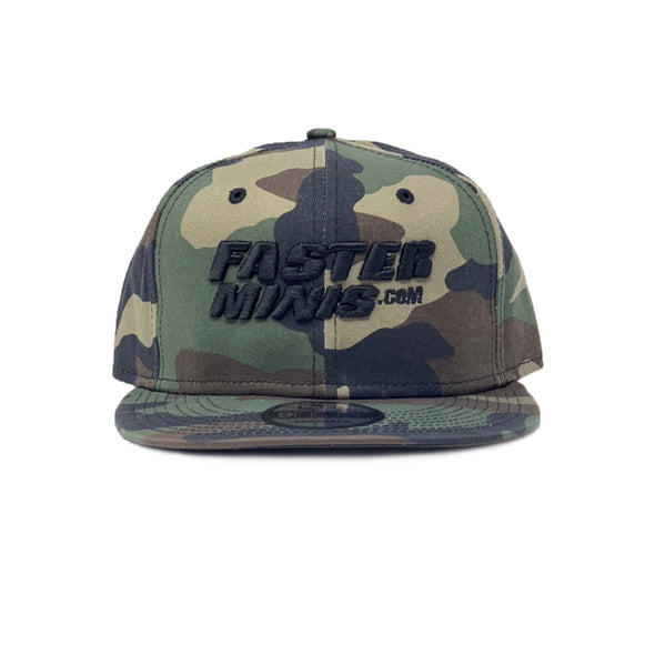Faster Minis Camo Snapback