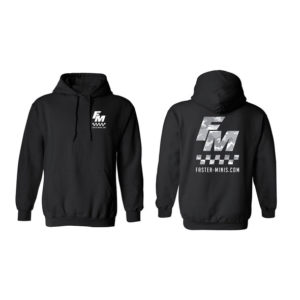 Faster Minis Camo Hoodie