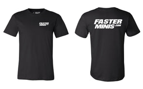 "Faster Minis ""Classic"" Tee"