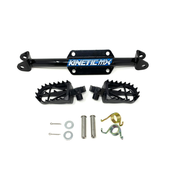 Kinetic MX Heavy Duty Footpeg Mount & Pegs for CRF110
