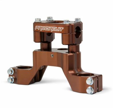 Pro Circuit Top Clamp and Bar Mount Triple clamp