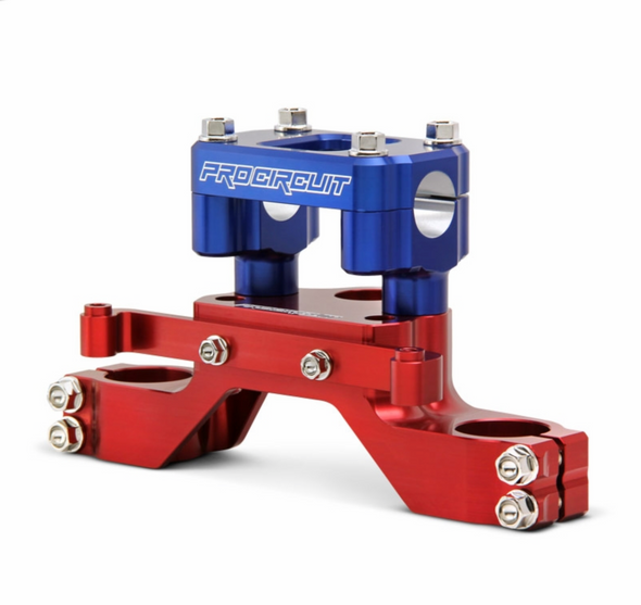 Pro Circuit Top Clamp and Bar Mount - CRF110