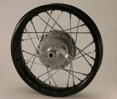 "12"" CRF50 Front Wheel with Drum"
