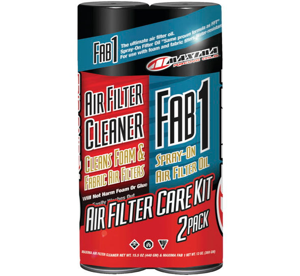 Maxima Air Filter Maintenance Care Kit Combo 2-Pack