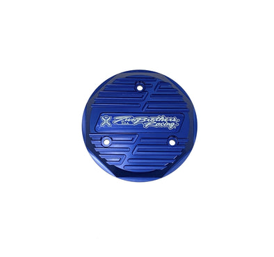 Two Bros KLX110 Ignition Cover -  Blue