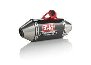 Yoshimura TRS Mini Comp Full Exhaust System for CRF110 Carbon Fiber Can