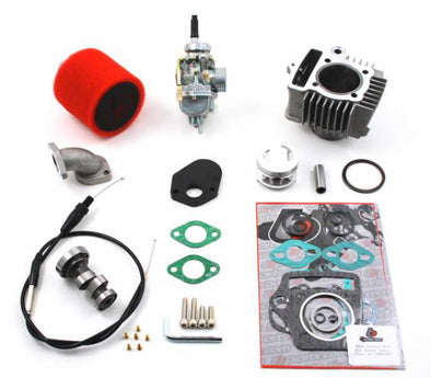 Trail Bikes 88cc Big Bore kit 20mm Carburetor Kit and Race Cam Performance Kit