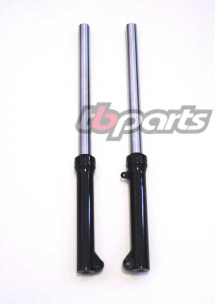 Aftermarket forks with heavy duty springs for Z50