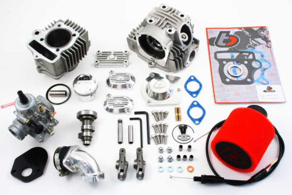 Trail Bikes 88cc Big Bore Kit + Race Head V2 + Mikuni VM26 Carb Kit
