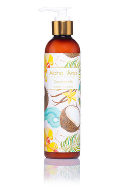 Hawaiian Aromatherapy Body Lotion, Coconut Milk Lotion