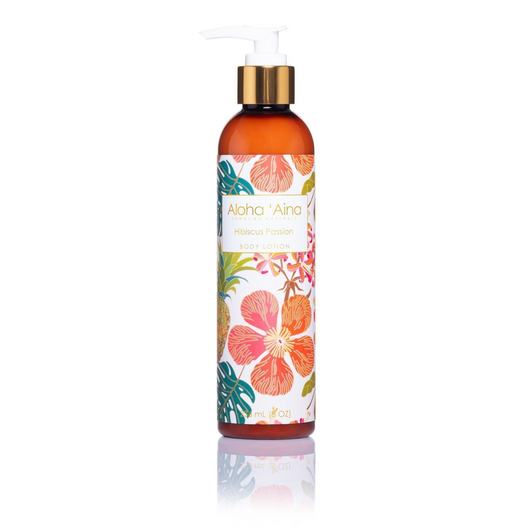 Hawaiian Aromatherapy Body Lotion – Hibiscus Passion