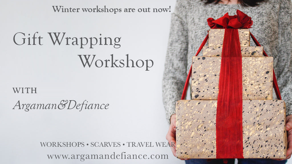 Gift Wrapping Workshop - November 24, 2018 10am - 12p