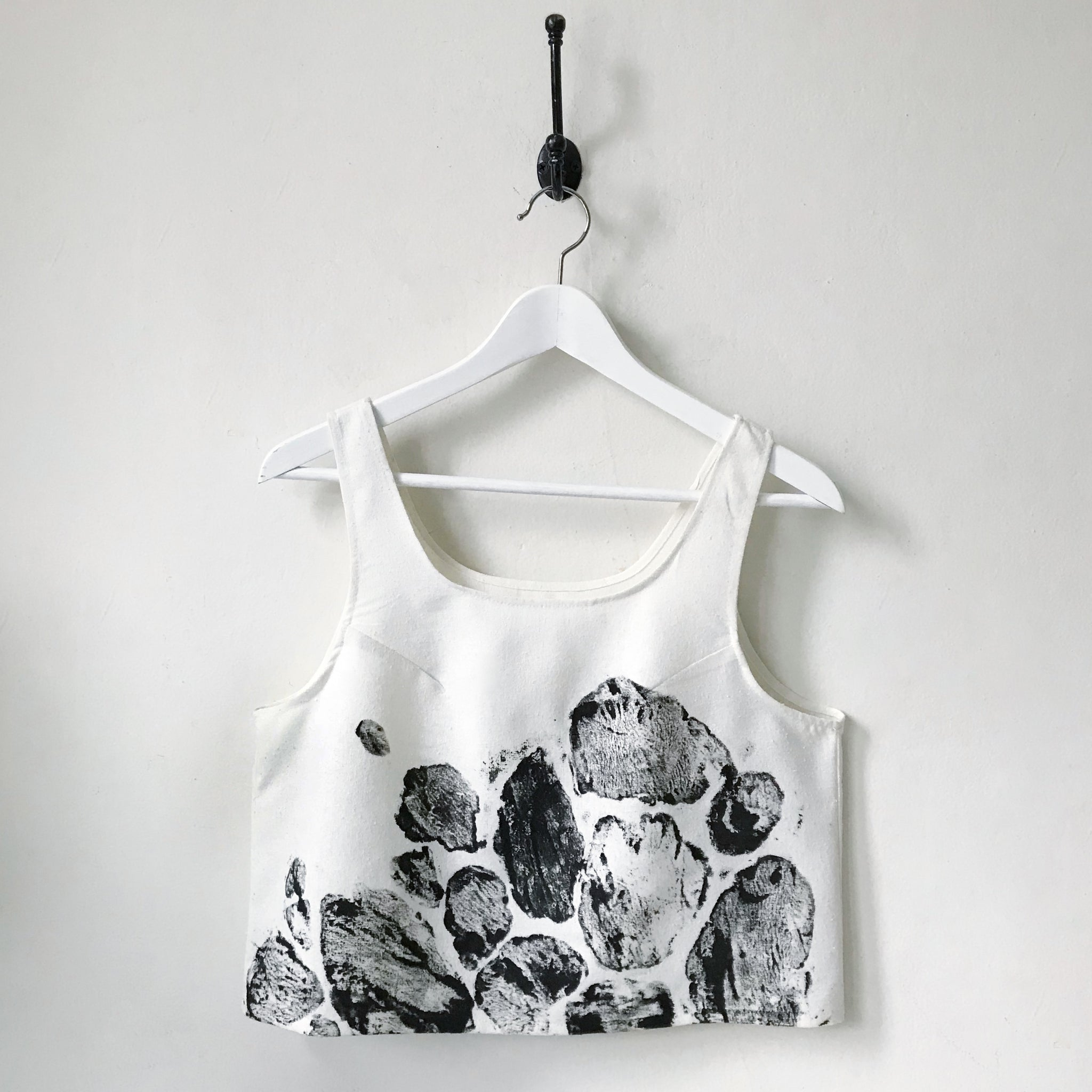 Raw Silk Crop Top