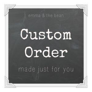 Custom Order for Liz Rocco - AM Realty Advisors