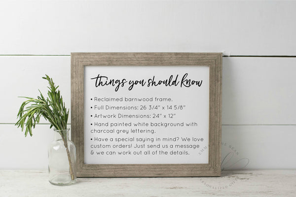 And So Together They Built A Life They Loved - Master Bedroom Wall Decor - Farmhouse Wood Sign