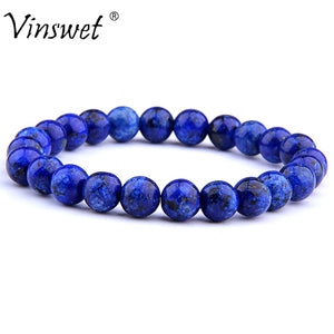 High Quality Natural Stone Beads Bracelets For Women Men