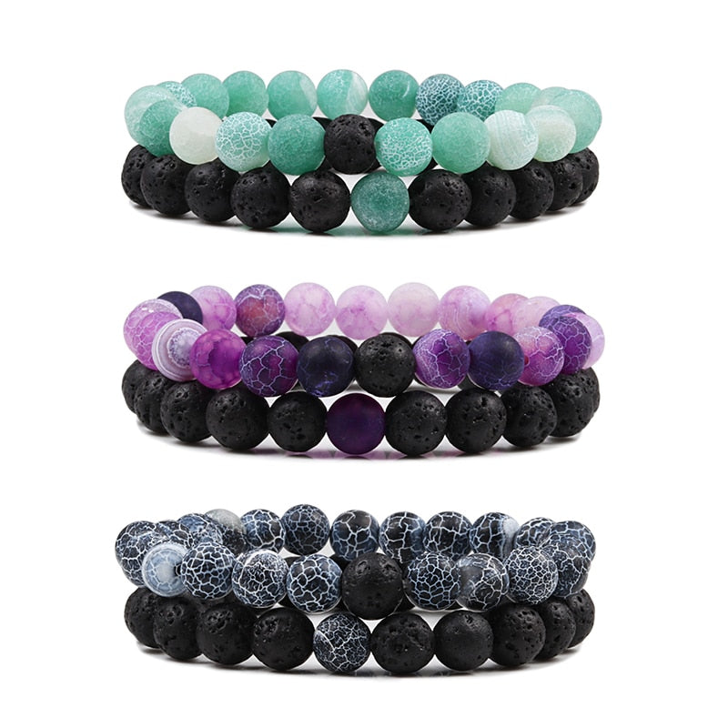 2pcs-set-beaded-bracelets-bangles-set-natural-lava-stone-couples.