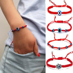 Load image into Gallery viewer, 1 Pcs Braided Red Thread Bracelets For Women Men Turkish Evil Eye Beads Lucky Red String Woven Bracelet Jewelry Fashion Gifts