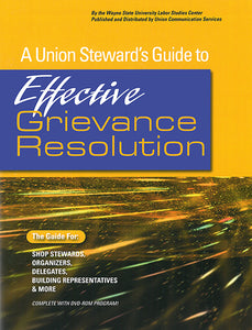 Effective Grievance Resolution (DVD)