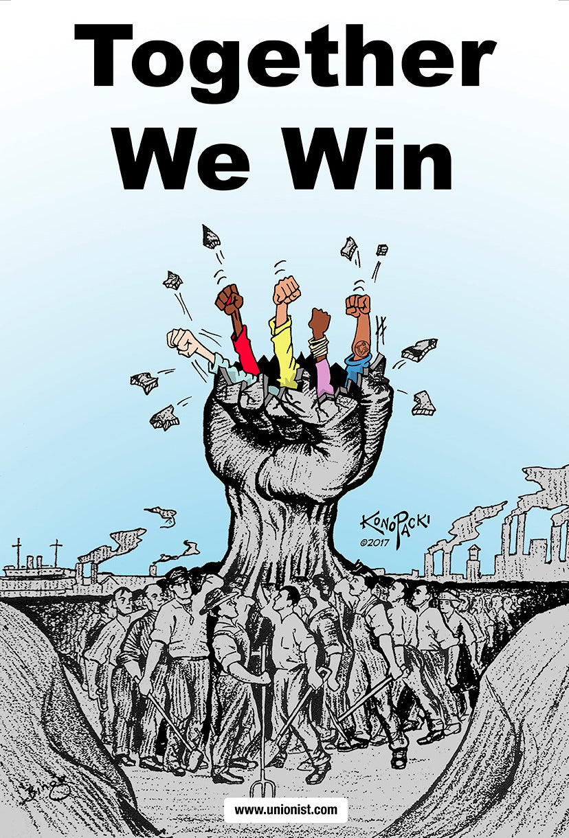 Together We Win - Poster