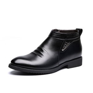 Men's Slip-On Dress Boots