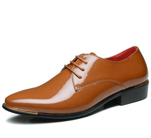 Men's Patent Leather Dress Shoes