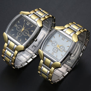 Men's Stainless Steel Band Business Watch