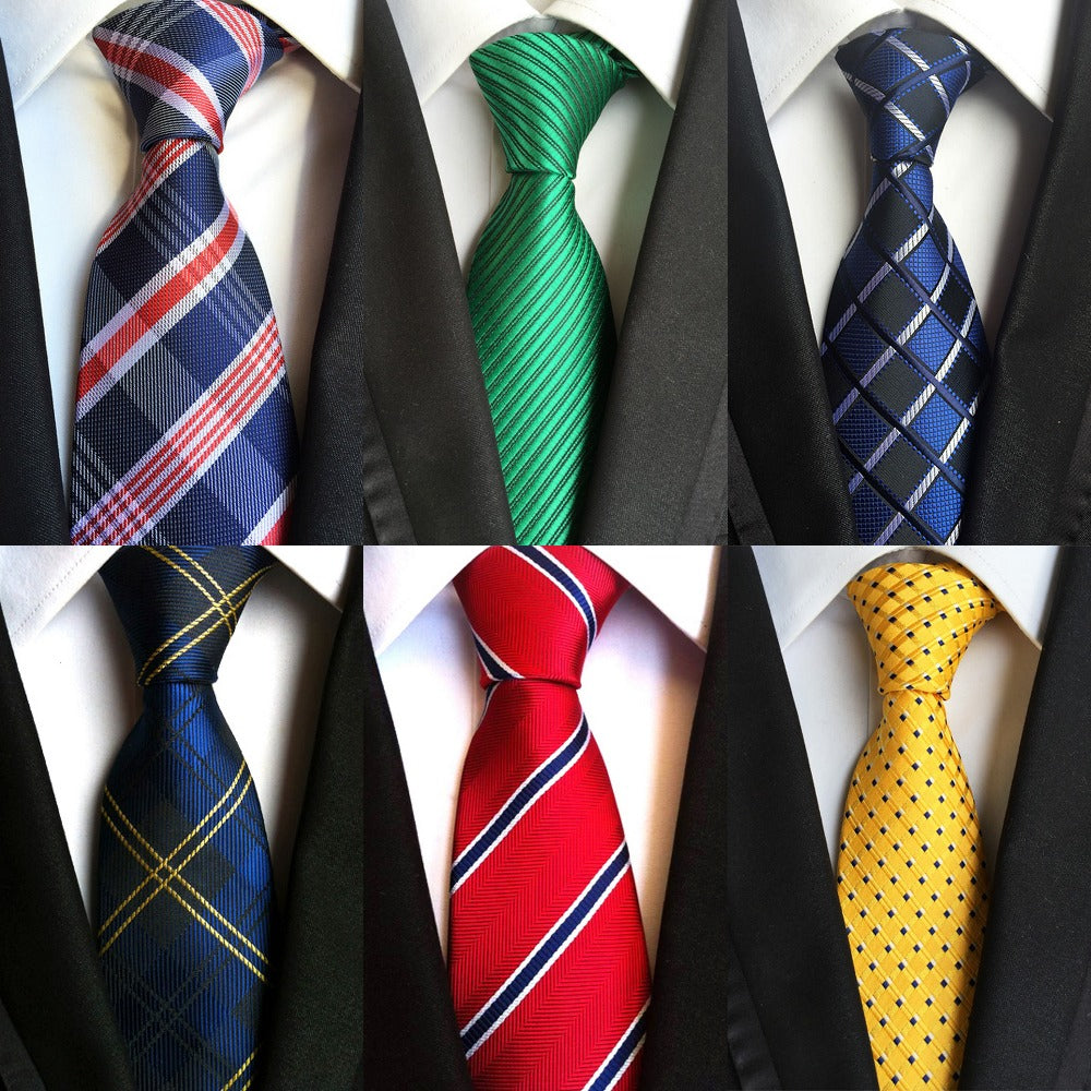 Men's Silk Dress Neck Tie