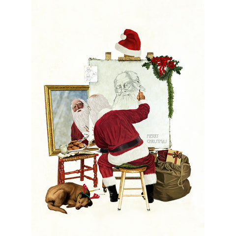 Santa's Self Portrait