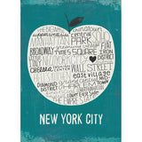Big Apple NYC - Small Notebook