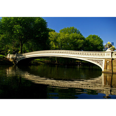 Bow Bridge In Spring